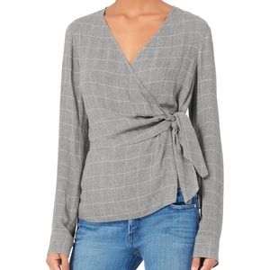 Derek Lam 10 Crosby wrap shirt